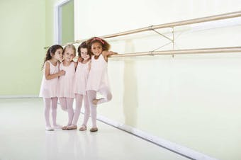 The rise of pre-school ballet