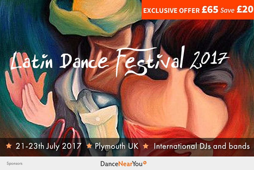 Exclusive Dance Near You Offer – Latin Dance Festival Plymouth